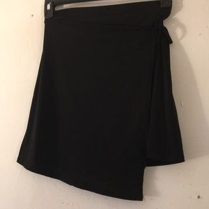 BCBGeneration Skirts - NWOT BCBGeneration Faux-Wrap Mini A-Line Skirt